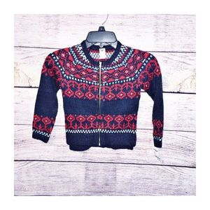 OshKosh B'gosh Fair Isle Sweater size 5